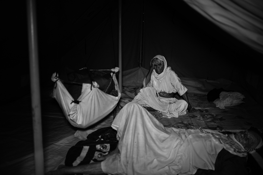 Life inside a tend, Zakho's refugees camp