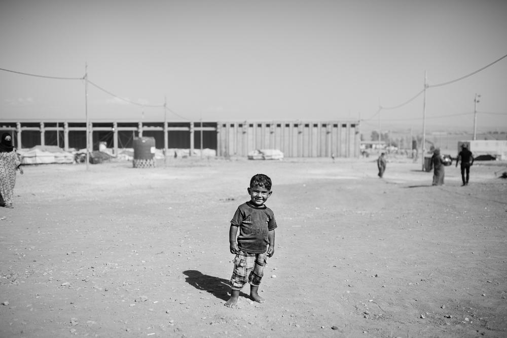 Erbil refugees camp
