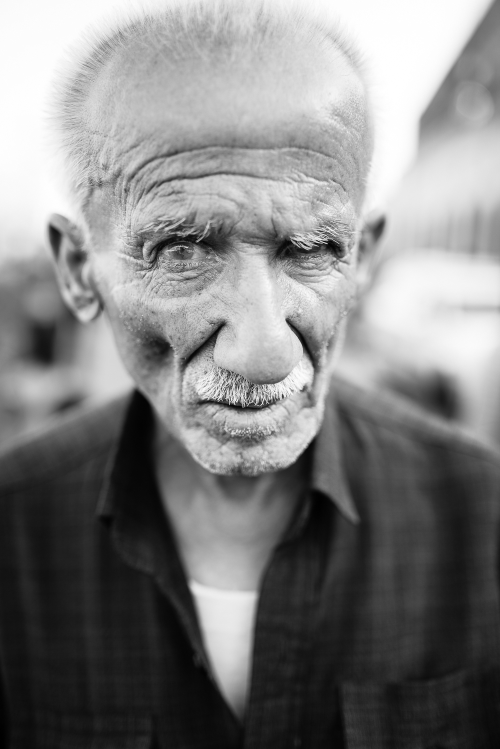 Old man in Erbil