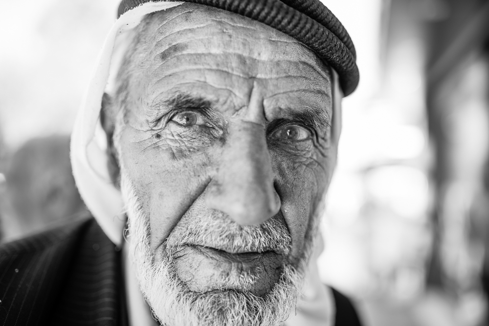 Portrait from the street, Diyarbakir (Turkey)