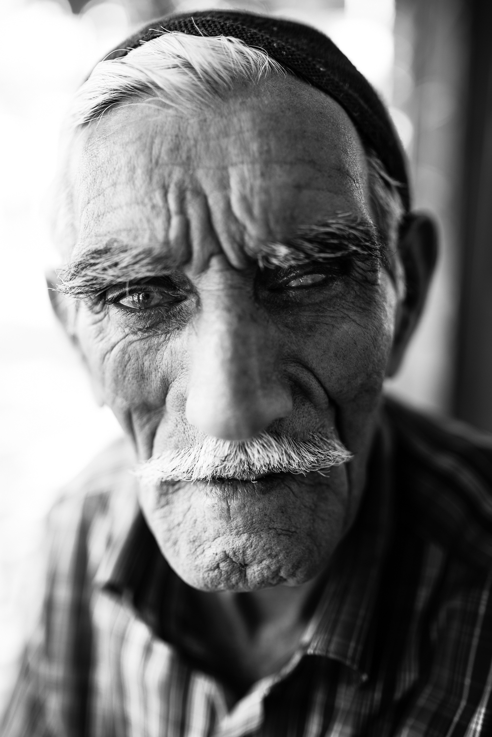 An elder man in Sanliurfa