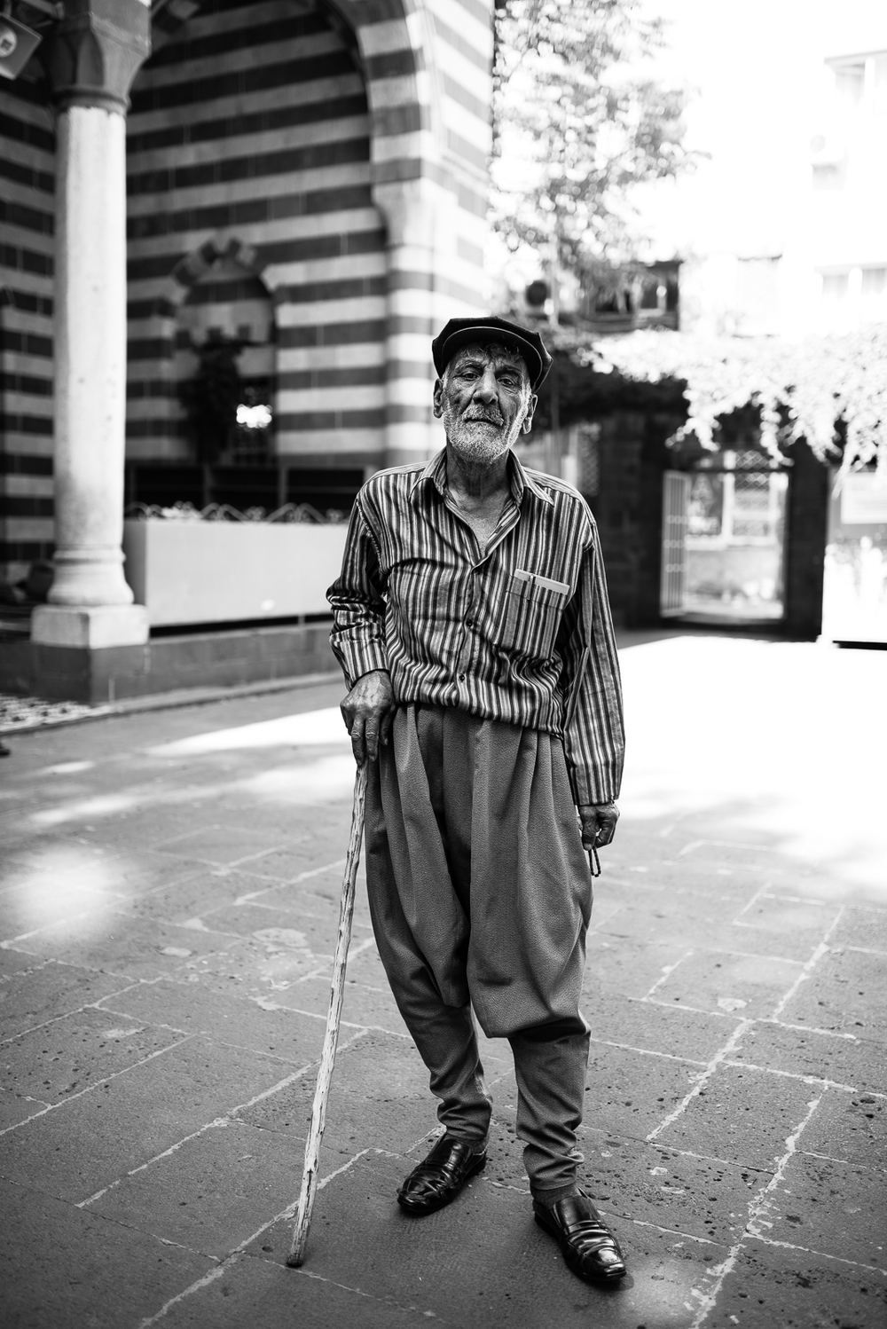 A typical kurdish old man in Diyarbakir