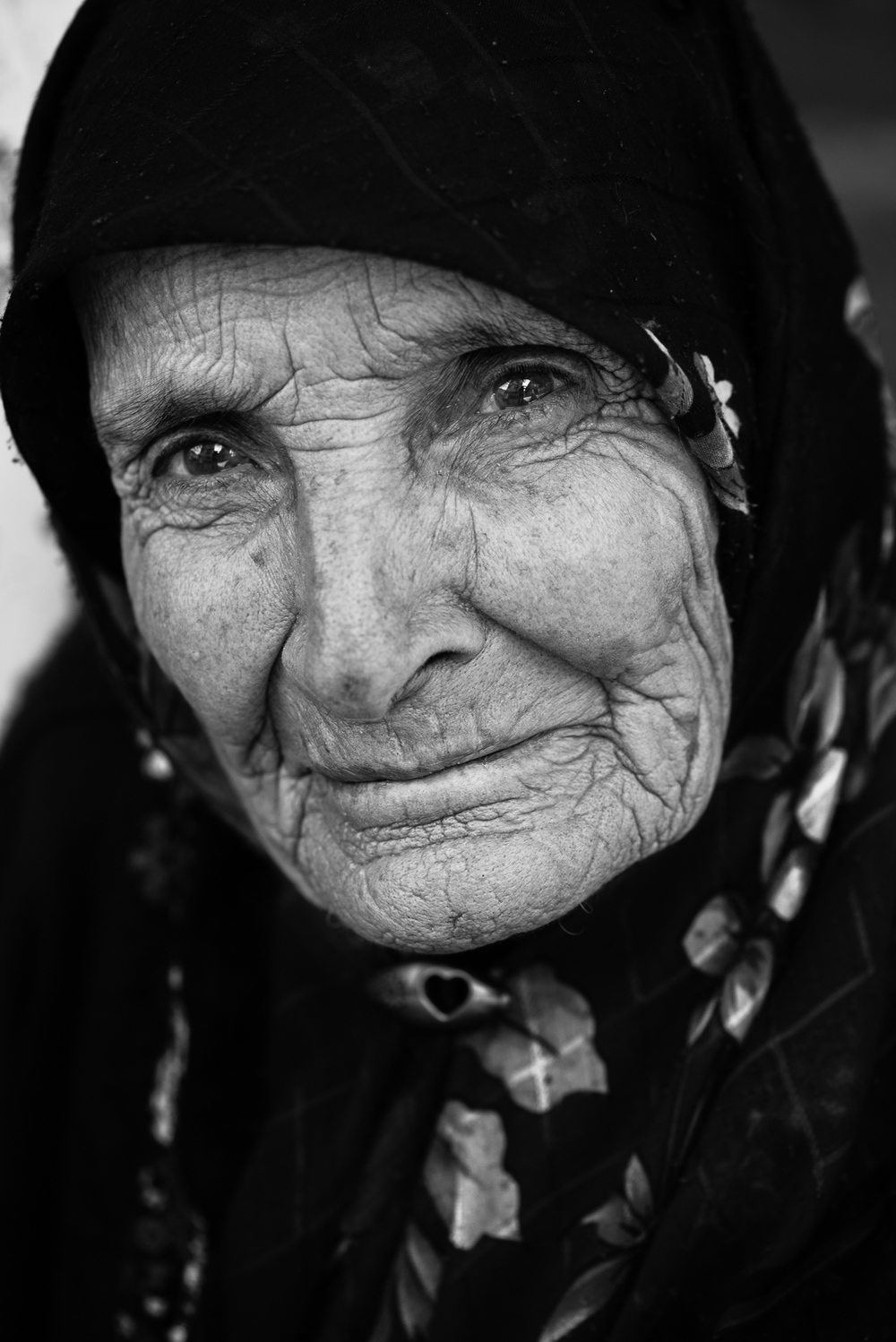 Elder turkish woman, Gaziantep