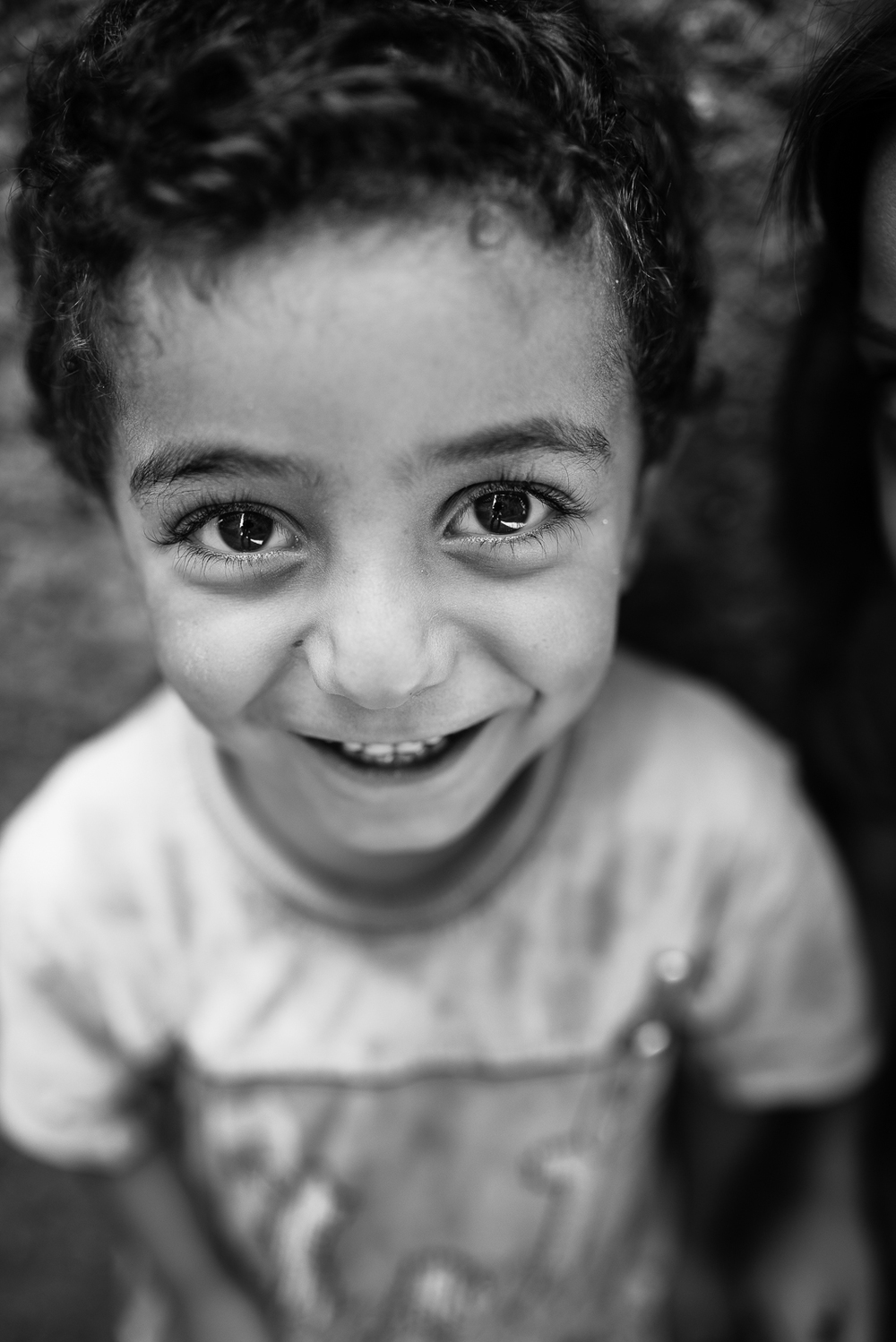An happy child in Diyarbakir. The video of this photo is  here