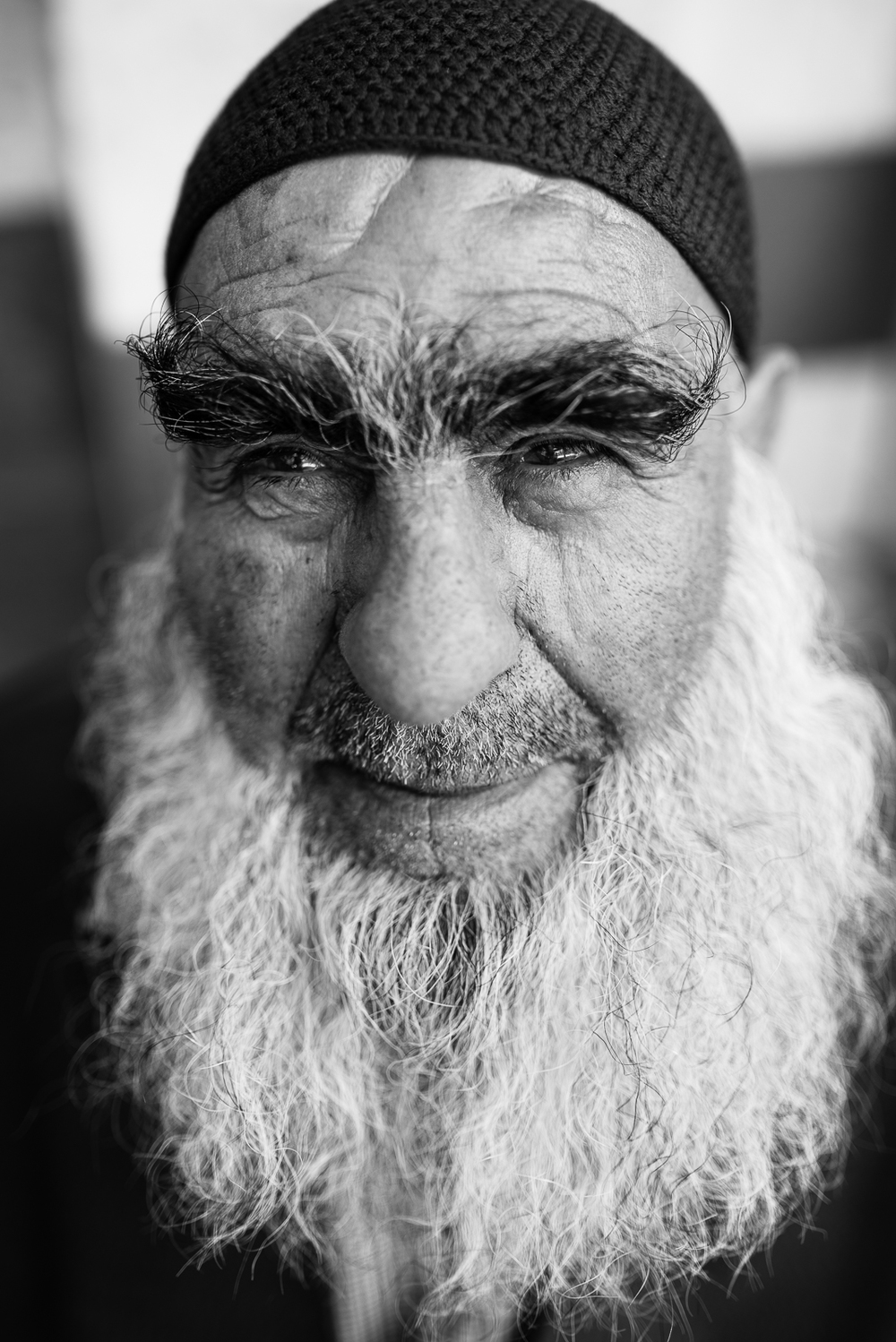 Big beard, big smiley. Diyarbakir