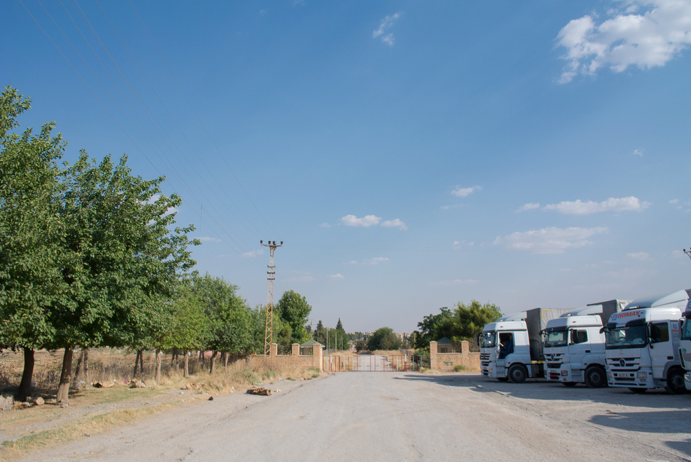 Al Qamishly border