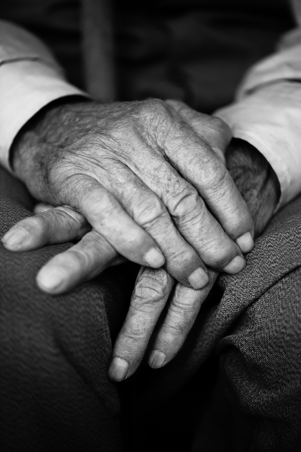 Elder man hands, Diyarbakir (Turkey)