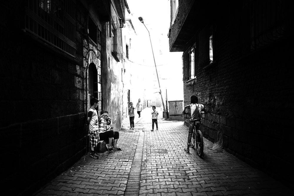 Children life, Diyarbakir (Turkey)
