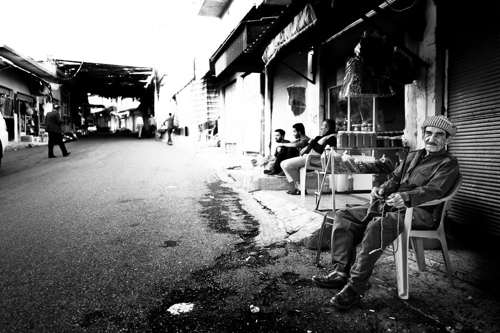 Street life in Amediye