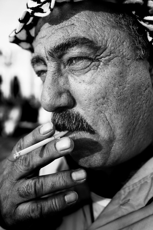 A man in Erbil