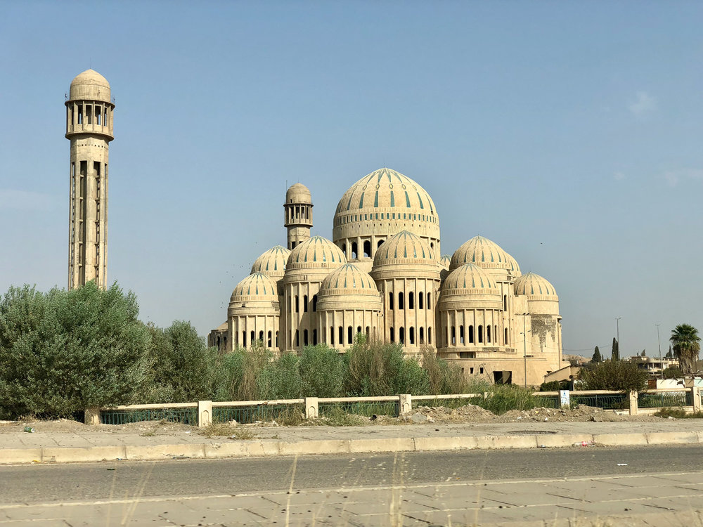 The Saddam mosquee in Mosul