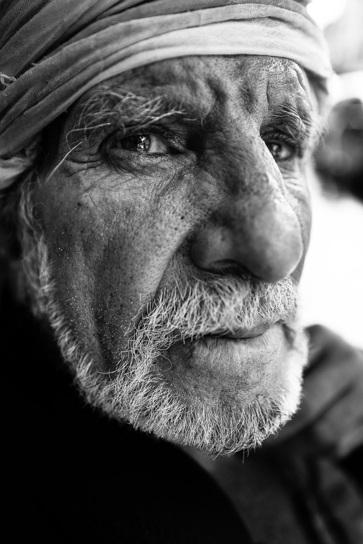 Man in Erbil