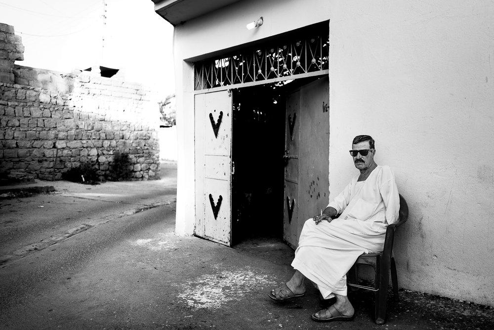 A cool man in Al-Shikhan