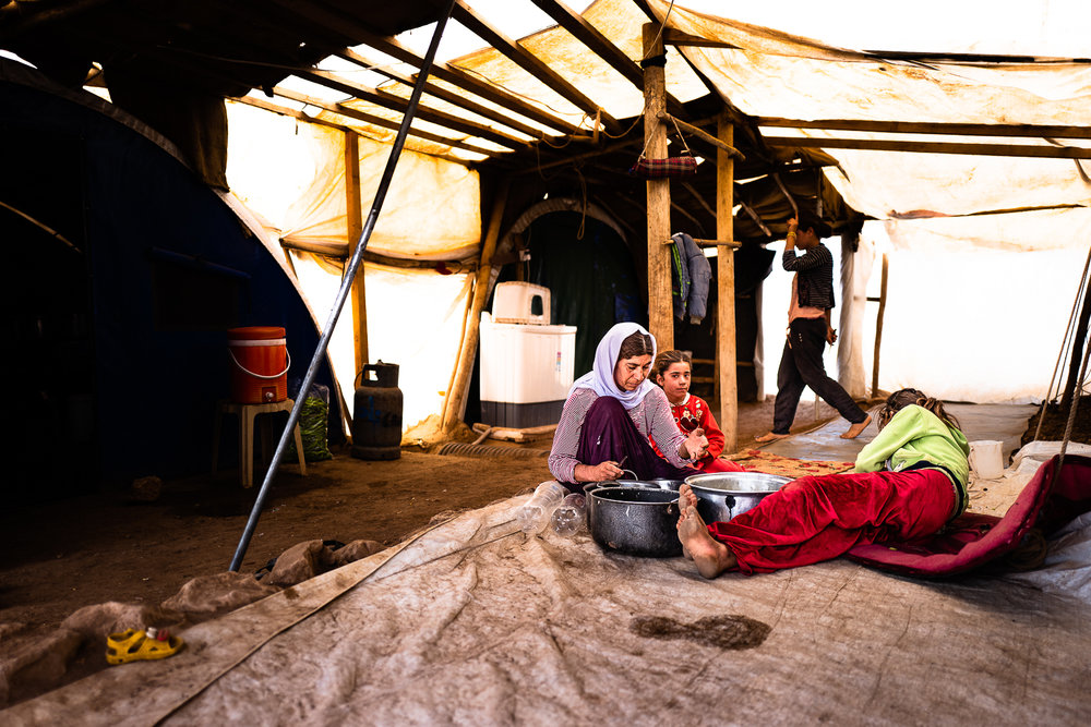 How Yazidi people are living in the Sinjar Mount