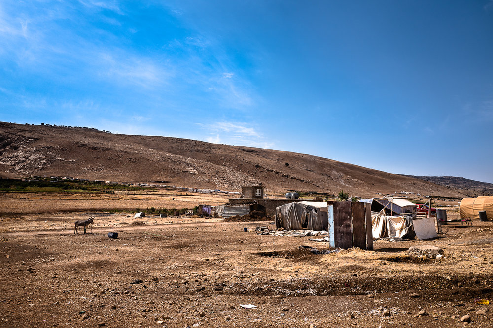 Camps in Sinjar mount