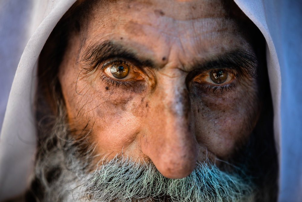 Religious man in Lalish
