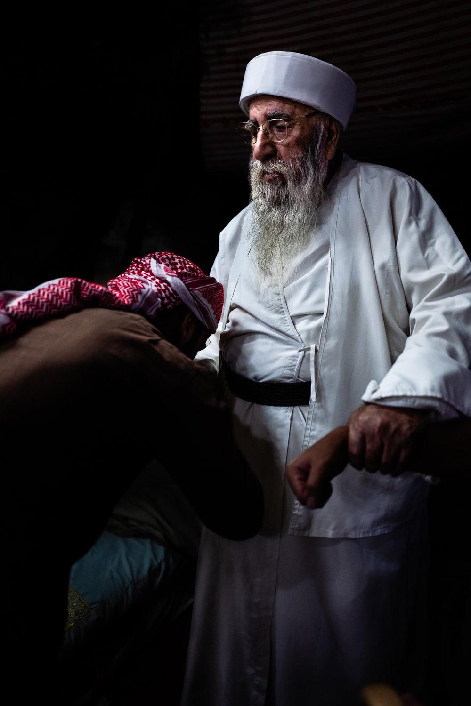 Baba Sheikh after the Ceina Cemaiya
