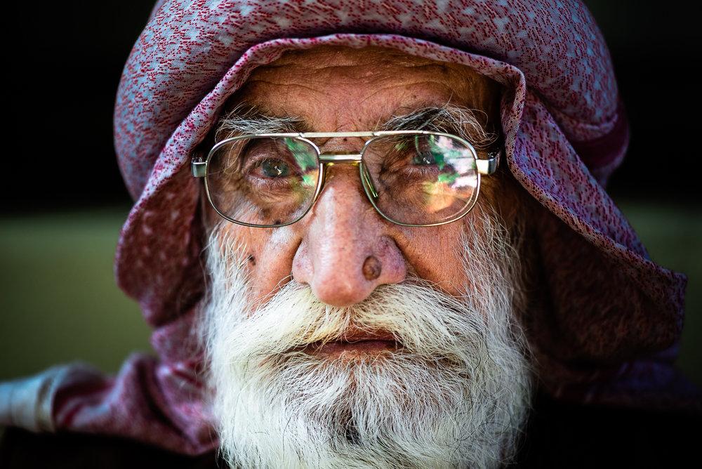 Important Yazidi figure at Baba Sheikh's house