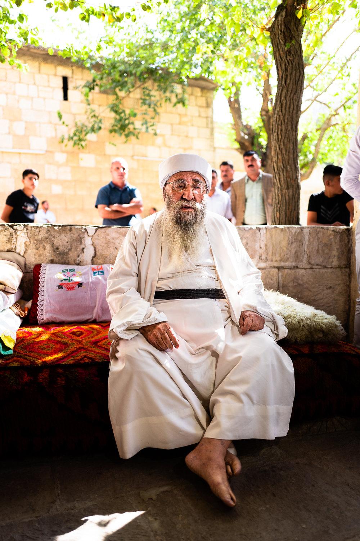 Baba Sheikh in Lalish