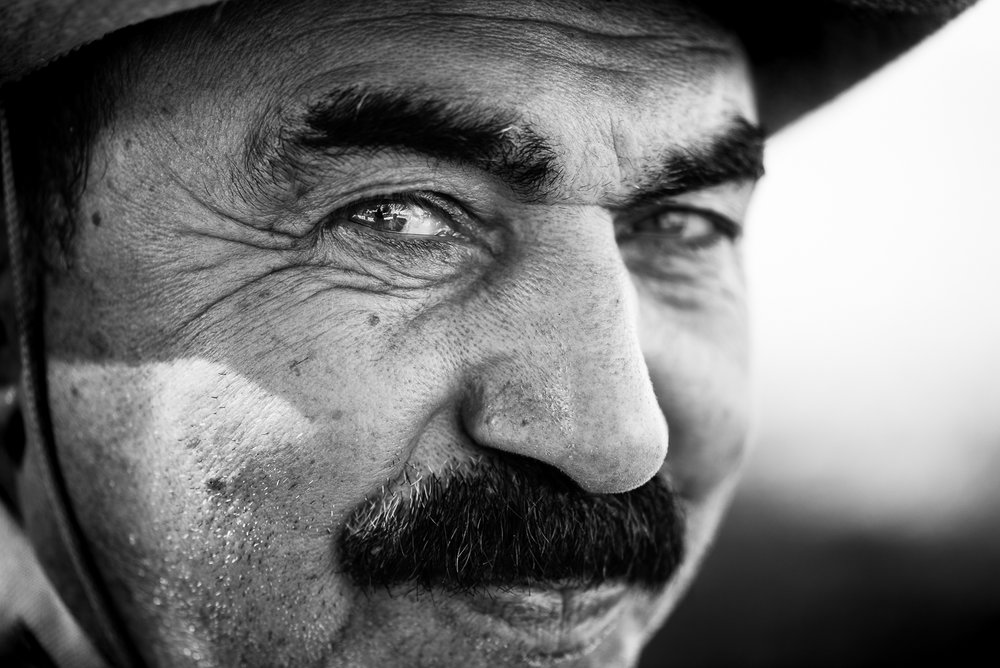 A man in Dohuk