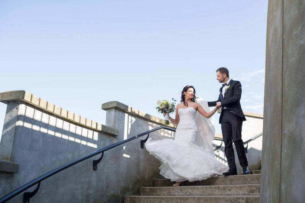Victoria + Jordan - Vancouver Wedding