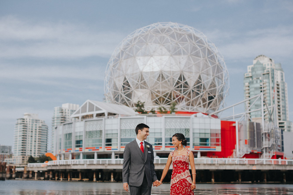 Nirupa + Tariq - Science World Wedding