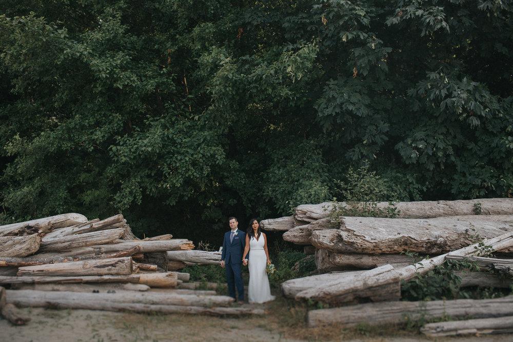 Aazadeh + Kyle  - Spanish Banks Wedding