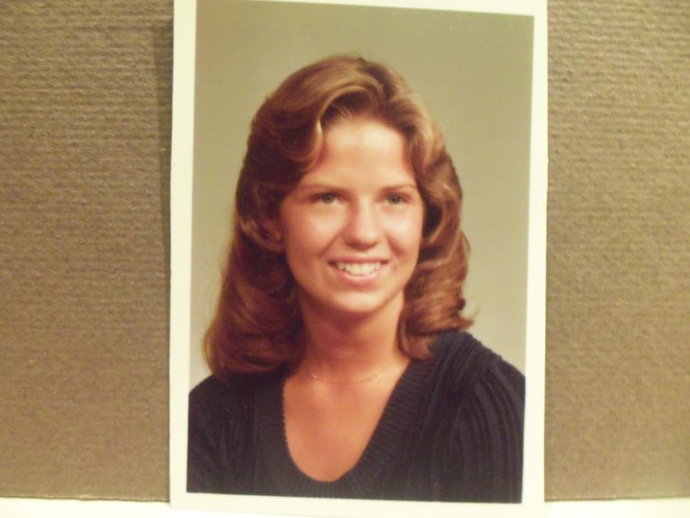 Tammy's senior graduation picture 1977