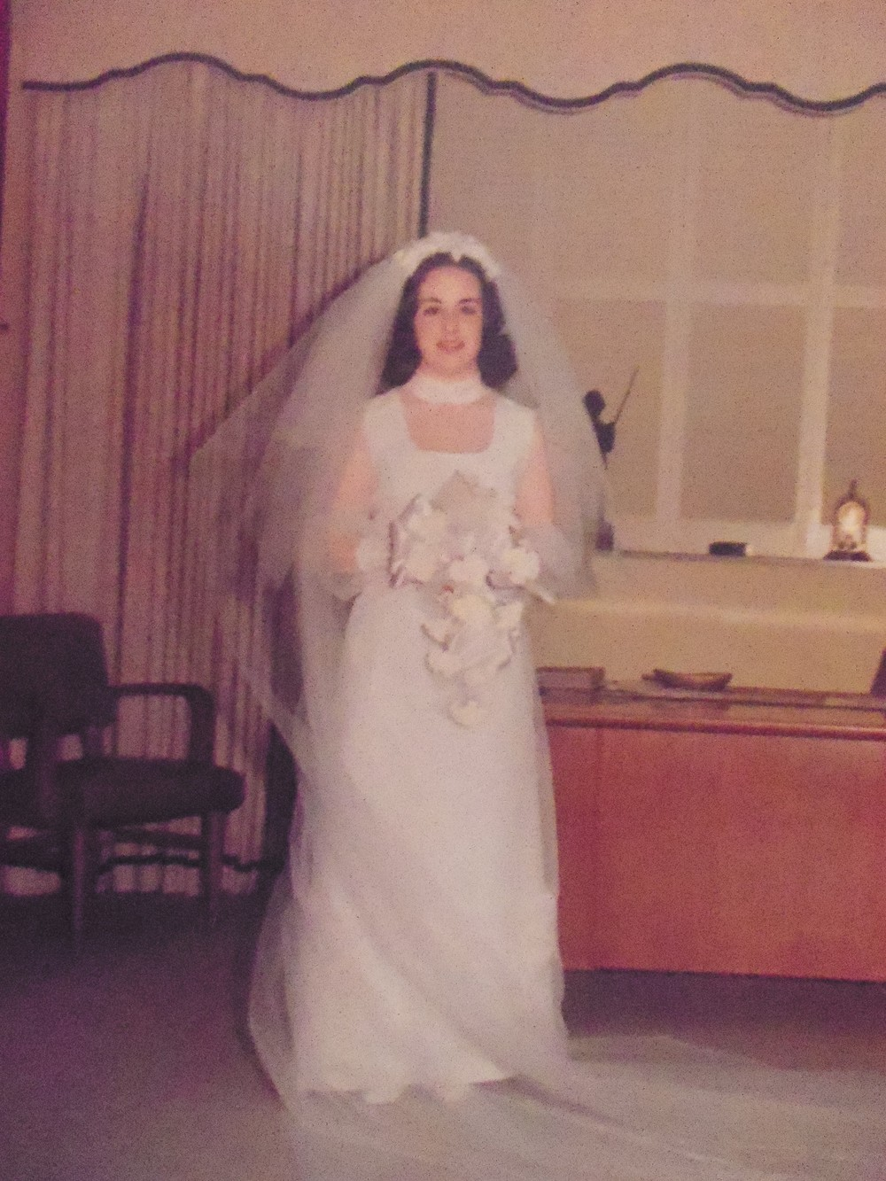 THANK YOU MAMAW FOR MY WEDDING DRESS