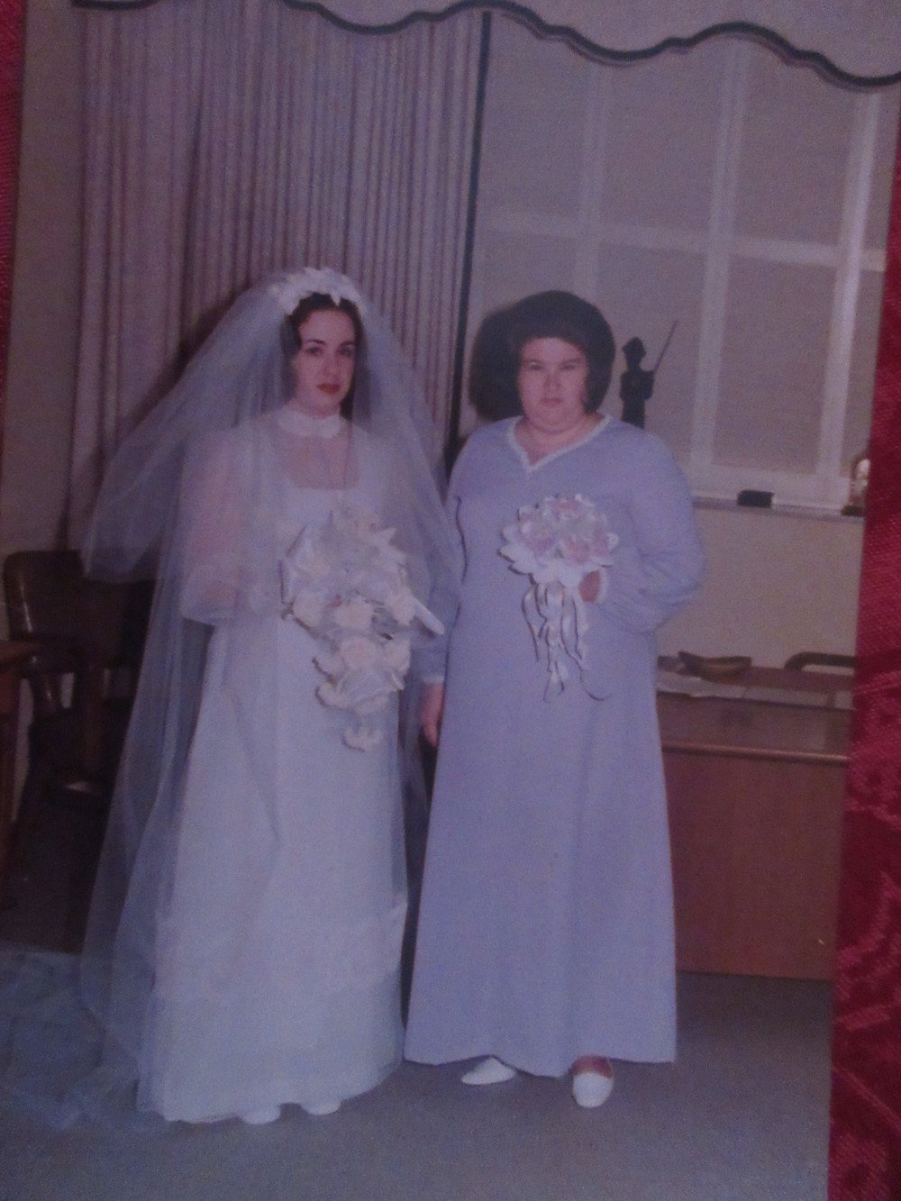 KATHY STORRIE & CAROLYN BURTON MY FRIEND & MAID OF HONOR WHO IS IN HEAVEN