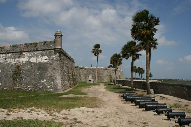 CASTILLO (FORT) de SAN MARCO PHOTO BY  G.CHRIS CLARK  CREATIVE COMMONSFLICKR