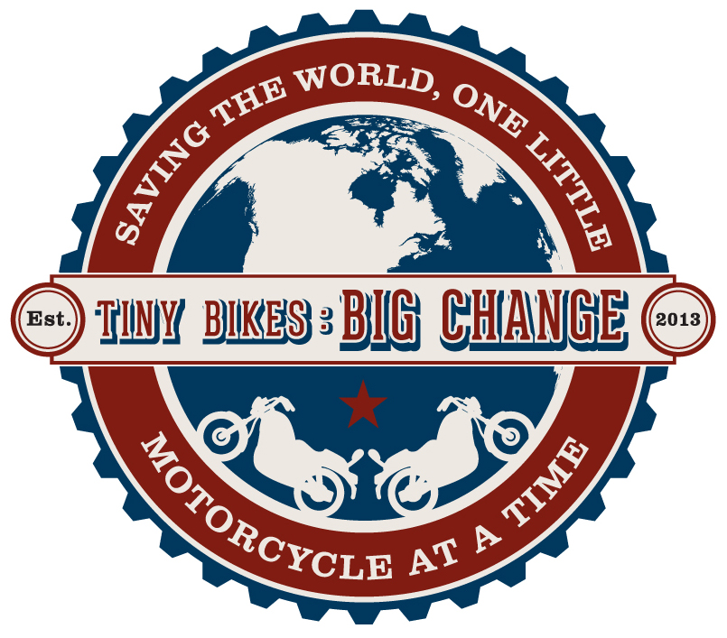 tiny bikes: big change