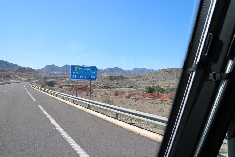 Onderweg van Cartagena naar Almeria langs de kust van Zuid-Spanje