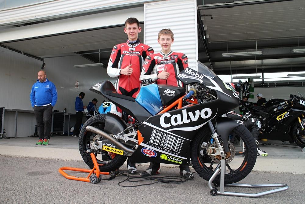 De KTM Moto3, het echte GP werk!