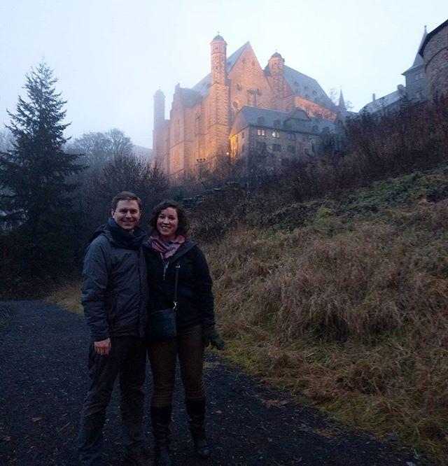 Frohe Weihnachten! ✨🎄✨ When in Germany, go visit a castle! 🏰