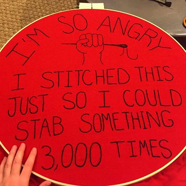 Thinking about march sign ideas and came across this, love it so much!! 🔪🔪🔪