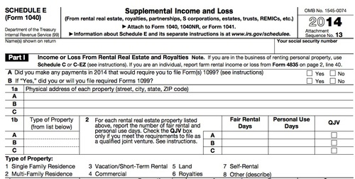 Additional Schedule E Wilson Financial Wealth Management and – Schedule E Worksheet