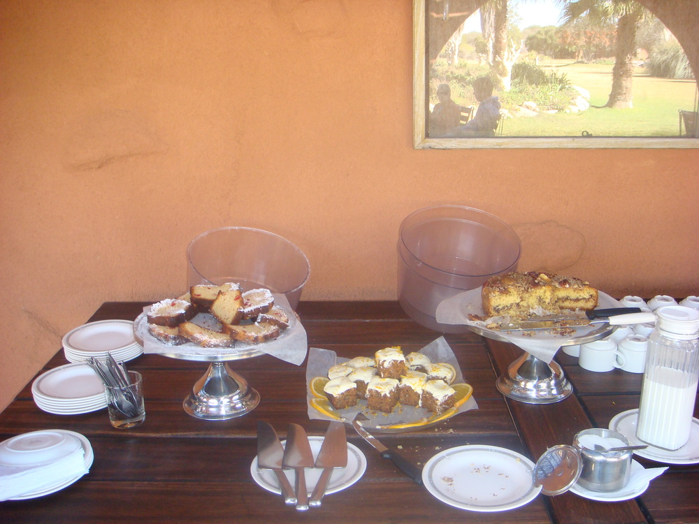 High Tea, Namibia