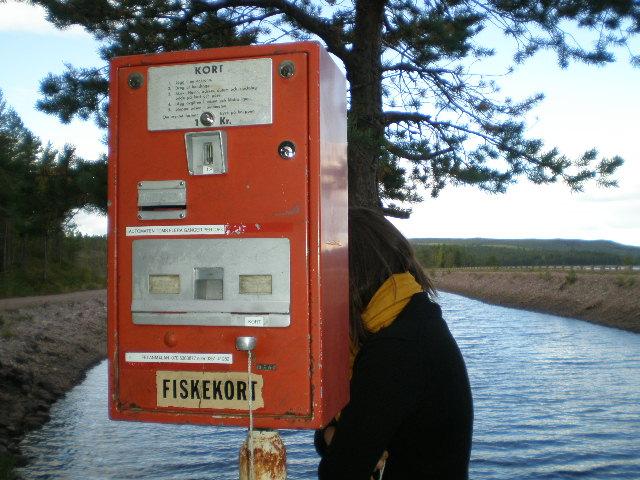 Fiskekort, Sweden