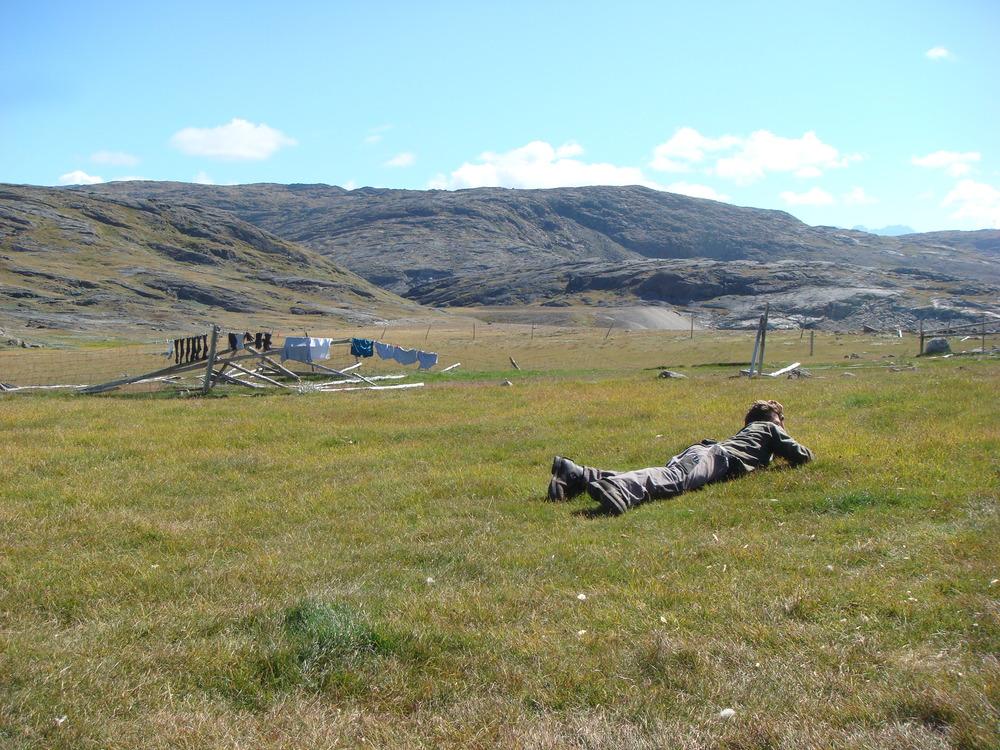 Christian's World. Basecamp, Greenland