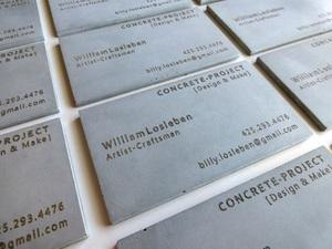 Business Cards — CONCRETE-PROJECT