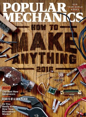 Popular Mechanics - September 2016 DIY Article:Concrete Picture Frames
