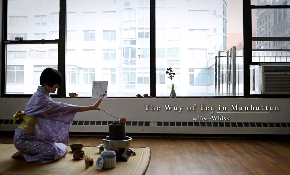 The Way of Tea in Manhattan- Tea Master's Promotion