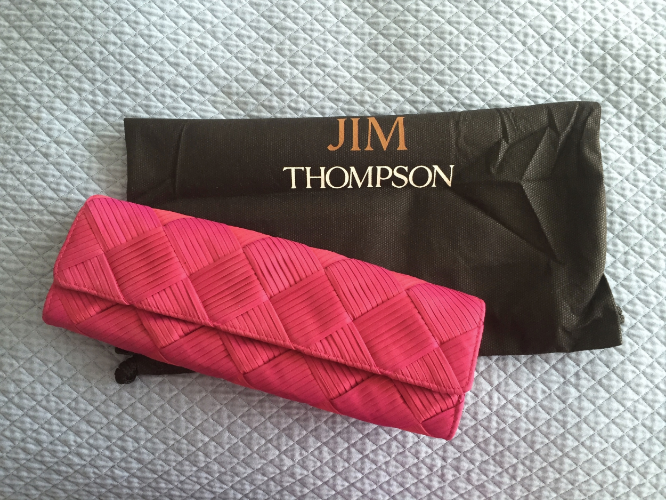 Jim Thompson in Bangkok produces beautiful high quality silk pieces that work well in every day life.