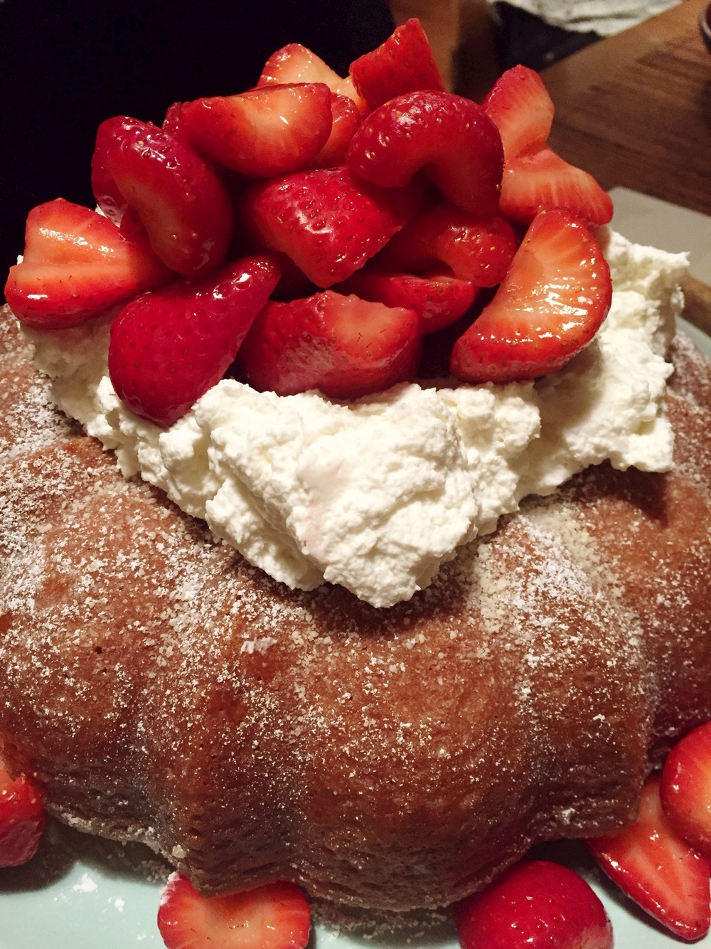 Kentucky butter cake with...