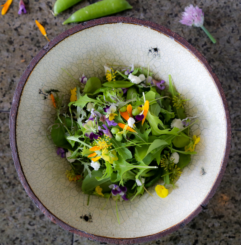 The Ridge Mesclun Salad - Barndiva