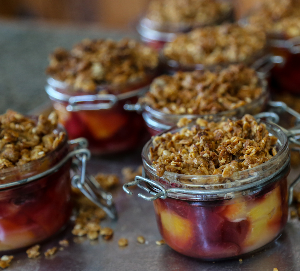 Scotty Noll's Summer Plum Cobbler - The Gallery Bar + bistro