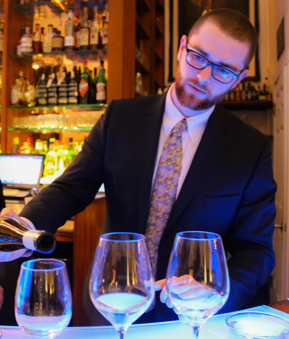 Wine Director Chappy Cottrell