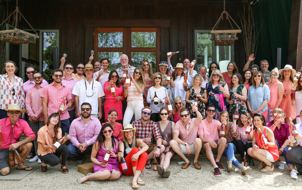 2018's ready to rock it Pink Party winemakers.…