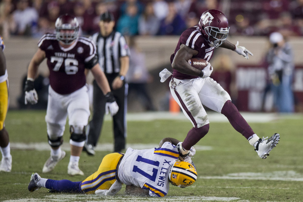 Texas A&M takes on LSU